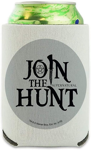 Supernatural Ipurgatory Join the Hunt Title Drink Sleeve