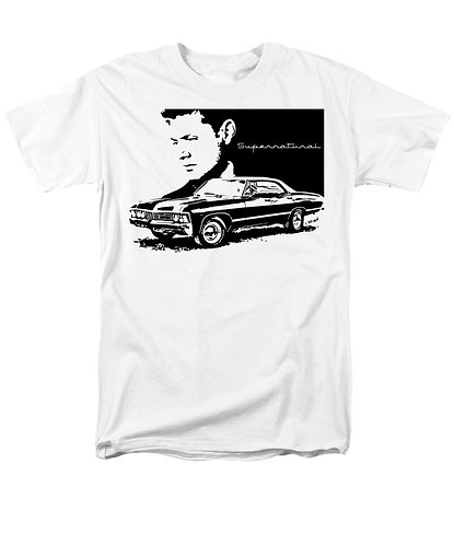 Supernatural Ipurgatory Dean Impala Men's T-Shirts