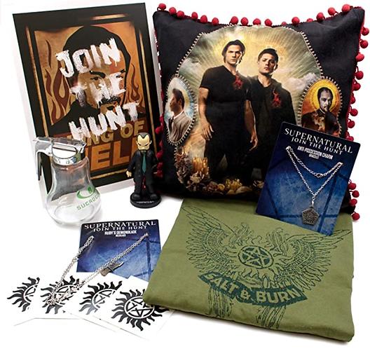 Supernatural Ipurgatory 8 Item Merchandise Collection Box III