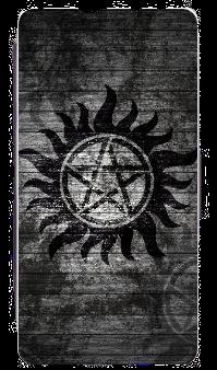 Supernatural Ipurgatory Anti-Possession Symbol iPhone Phone Wallet Case