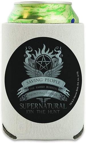 Supernatural Ipurgatory Saving People Family Business Crest Drink Sleeve