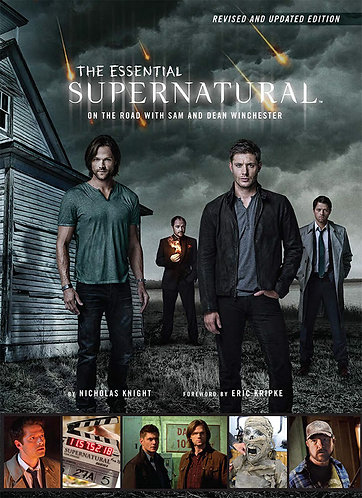 Supernatural The Essential On The Road With Dean and Sam Winchester Book