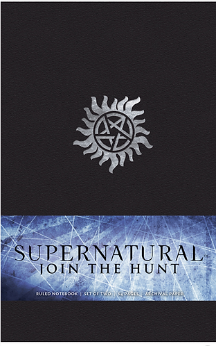 Supernatural Join The Hunt Notebook Collection Set of 2