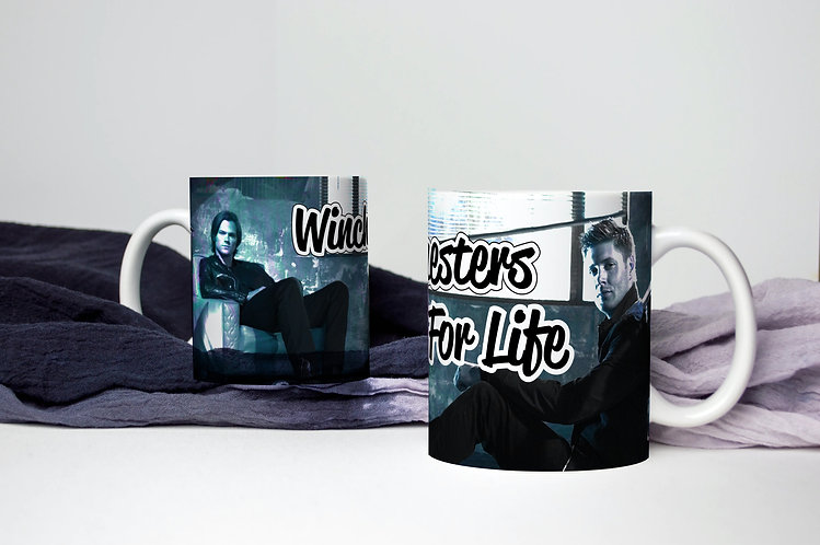Supernatural Winchesters For Life Dean Sam Mug