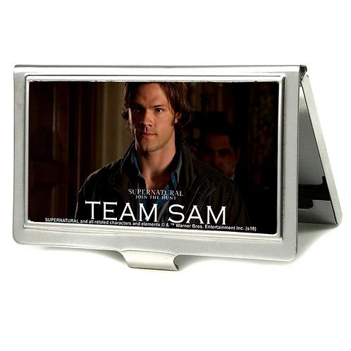 Supernatural Ipurgatory Team Sam Portrait Business Cardholder