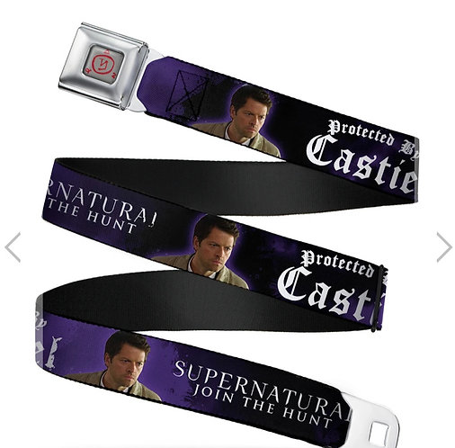 Supernatural Ipurgatory Be Protected by Castiel Belt with Buckle