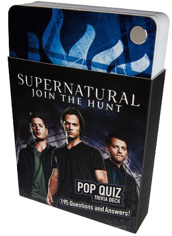 Supernatural Ipurgatory Pop Quick Trivia Deck