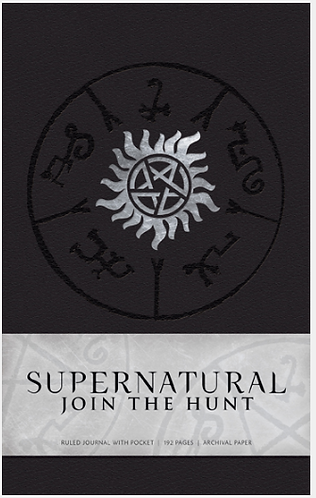 Supernatural Hardcovered Ruled Journal