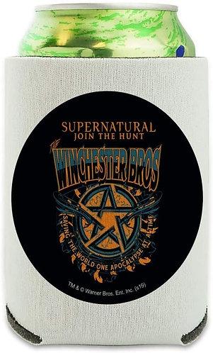 Supernatural Ipurgatory Winchester Bros Pentagram Drink Sleeve
