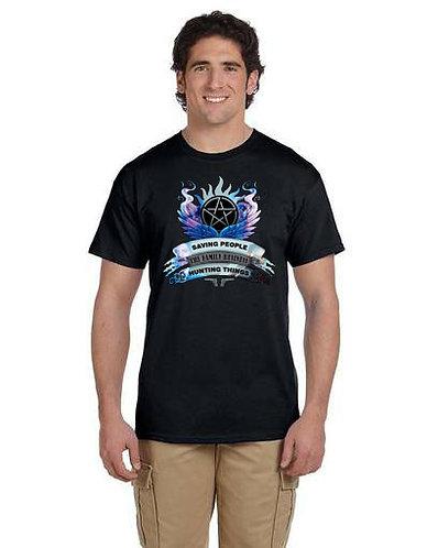 Supernatural Saving People Family Business Crest T-Shirt