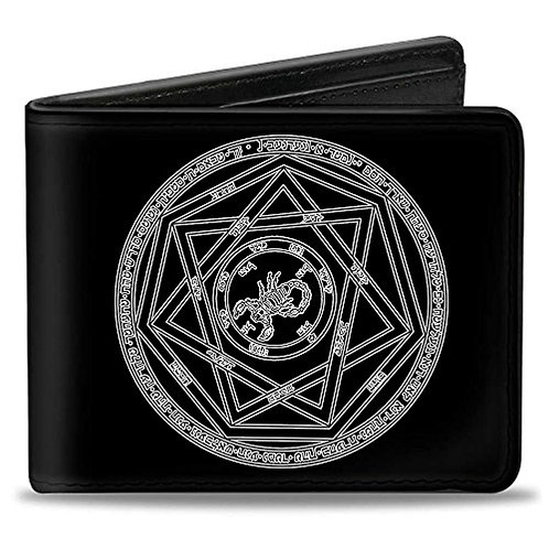 Supernatural Ipurgatory Devil Trap Icon Bi-Fold Wallet