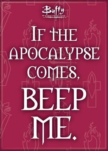 Buffy the Vampire Slayer Ipurgatory Apocalypse Beep Me Magnet