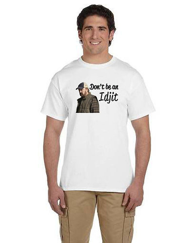 Supernatural Bobby Don't Be An Idjit T-Shirt