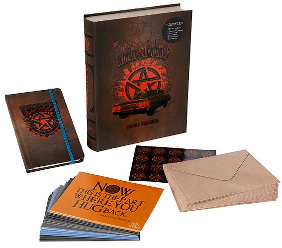 Supernatural Ipurgatory Delux Note Card Set with Keepsake Box