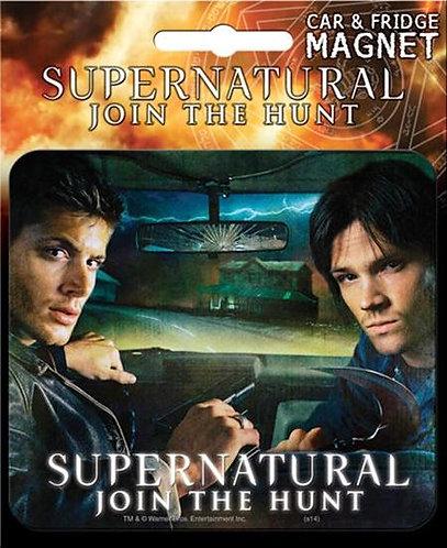 Supernatural Ipurgatory Title Join the Hunt Car Magnet