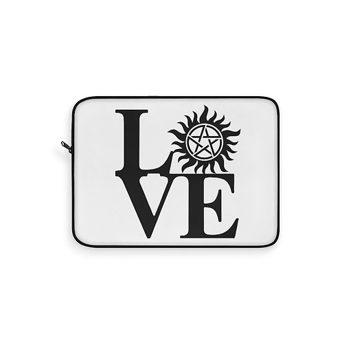Supernatural Love Anti-Possession Symbol Laptop Sleeve