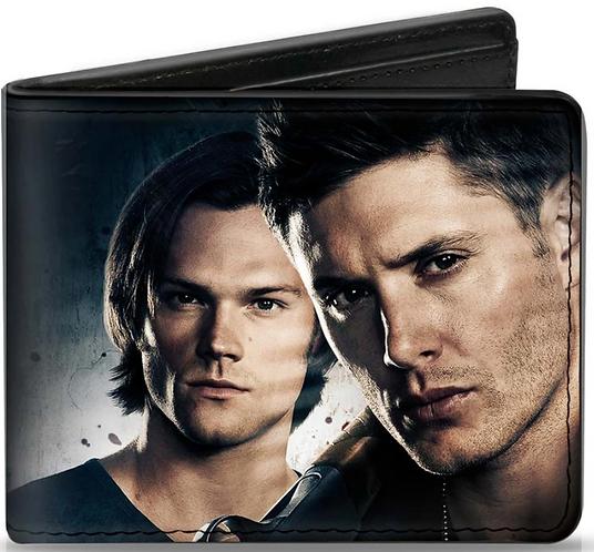 Supernatural Ipurgatory Dean Sam Winchesters Bi-Fold Wallet