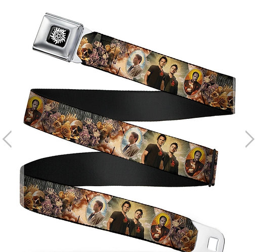 Supernatural Ipurgatory Four Character Portraits Belt with Buckle