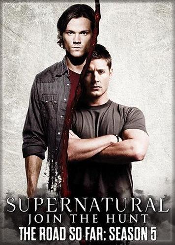 Supernatural Ipurgatory Title Season 5 Magnet