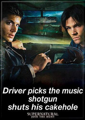 Supernatural Ipurgatory Driver Picks the Music Magnet