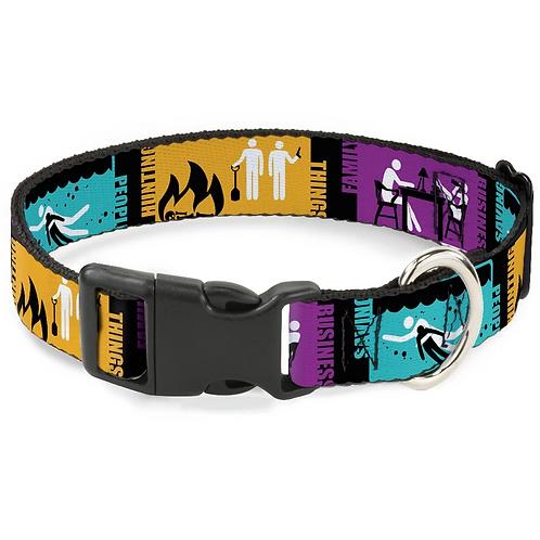 Supernatural Ipurgatory Saving People Dog Collar with Plastic Breakaway