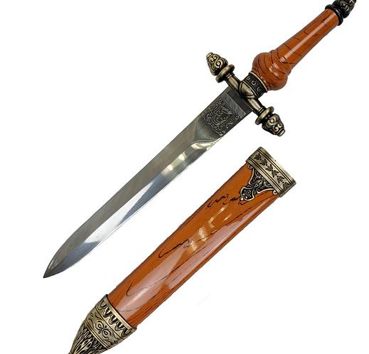 Supernatural Ipurgatory Orange Trunk Dagger Replica