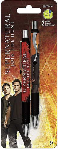 Supernatural Join the Hunt 2 Pack Gel Pens