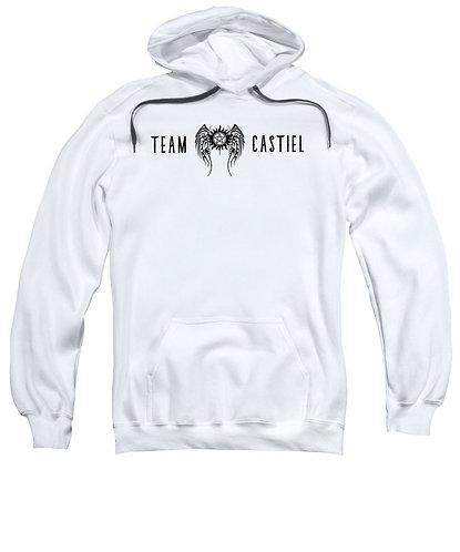Supernatural Ipurgatory Team Castiel Wings Hoodie Sweatshirt