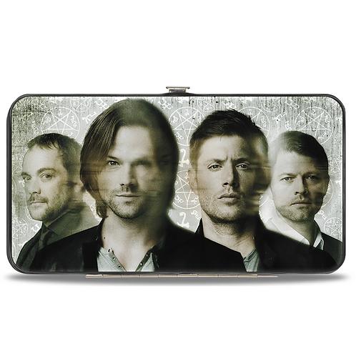 Supernatural Ipurgatory Four Character Blurred Hinge Wallet