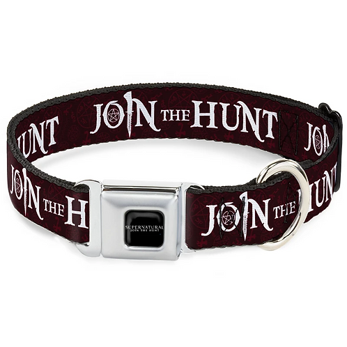 Supernatural Ipurgatory Join the Hunt Dog Collar with Metal Clip