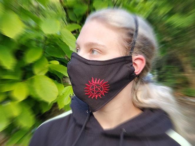 Supernatural Ipurgatory Handmade Masks with Symbol Logo