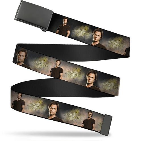 Supernatural Ipurgatory Sam Portrait Title Belt with Black Clasp