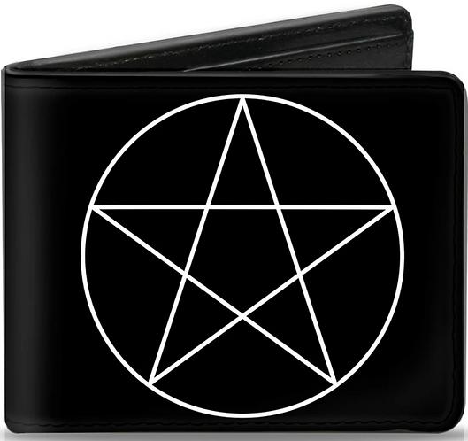 Supernatural Ipurgatory Pentagram Symbol Icon Bi-Fold Wallet