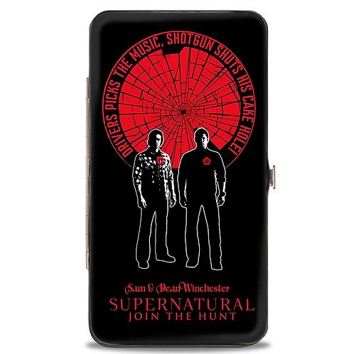 Supernatural Ipurgatory Driver Picks the Music Red Hinge Wallet