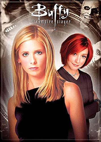 Buffy the Vampire Slayer Ipurgatory Buffy and Willow Magnet