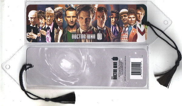 Doctor Who Ipurgatory First Eleven Doctors Bookmark