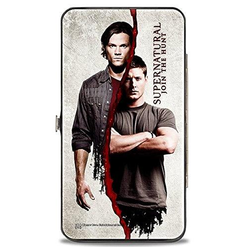 Supernatural Ipurgatory Sam and Dean Winchester Split Hinge Wallet