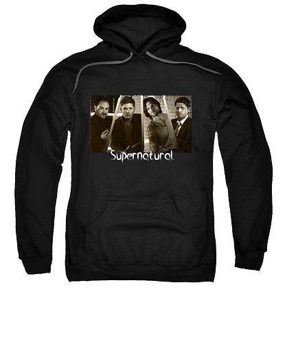 Supernatural Ipurgatory Familia Character Title Hoodie Sweatshirt