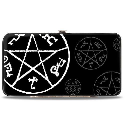 Supernatural Ipurgatory Devil Trap Icons Hinge Wallet