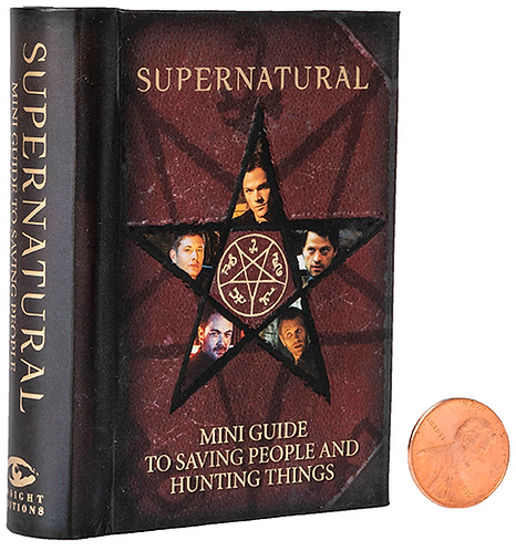 Supernatural Ipurgatory Mini Book Guide to Saving People and Hunting Things