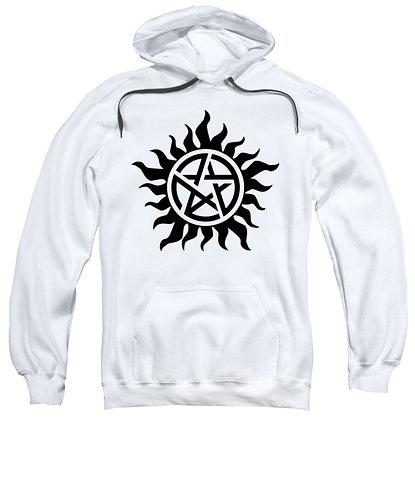 Supernatural Ipurgatory Anti-Possession Black Symbol Hoodie Sweatshirt