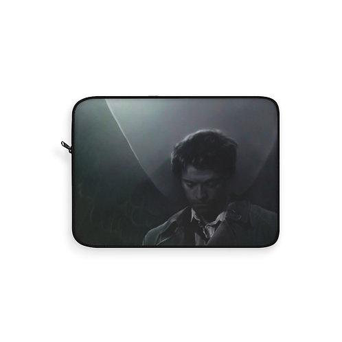 Supernatural Ipurgatory Team Castiel Pic Laptop Sleeve