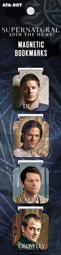 Supernatural Ipurgatory Familia Characters 4-Set Magnetic Bookmark