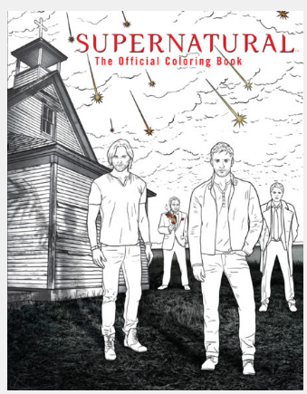 Supernatural Ipurgatory The Official Coloring Book