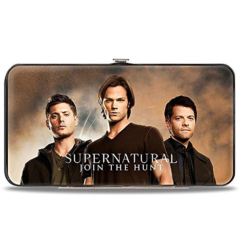 Supernatural Ipurgatory Trio Nothing Lives Is Simple Horizontal Hinge Wallet