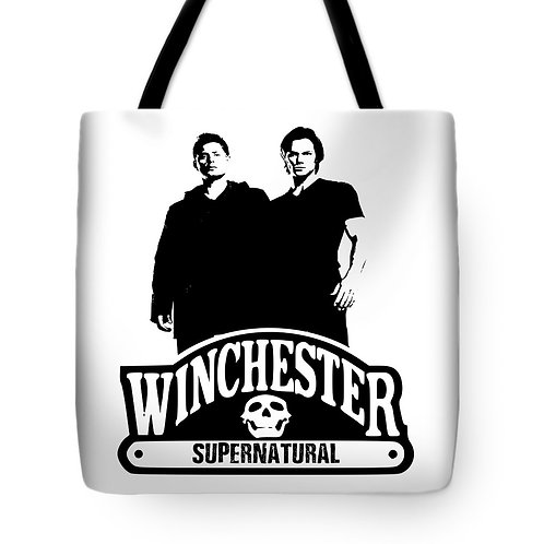 Supernatural Ipurgatory Winchester Duo Tote Bag