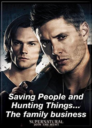 Supernatural Ipurgatory Saving People Quote Magnet