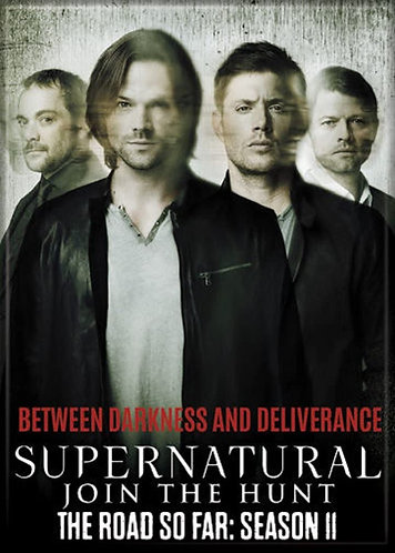 Supernatural Ipurgatory Title Season 11 Magnet