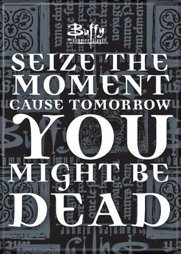 Buffy the Vampire Slayer Ipurgatory Seize the Moment Magnet