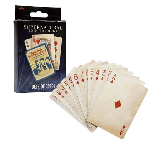 Supernatural Ipurgatory Collectible Playing Cards